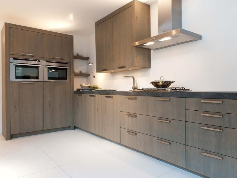 Houten Keuken Ideas : Moderne houten keuken google zoeken kitchen kitchens