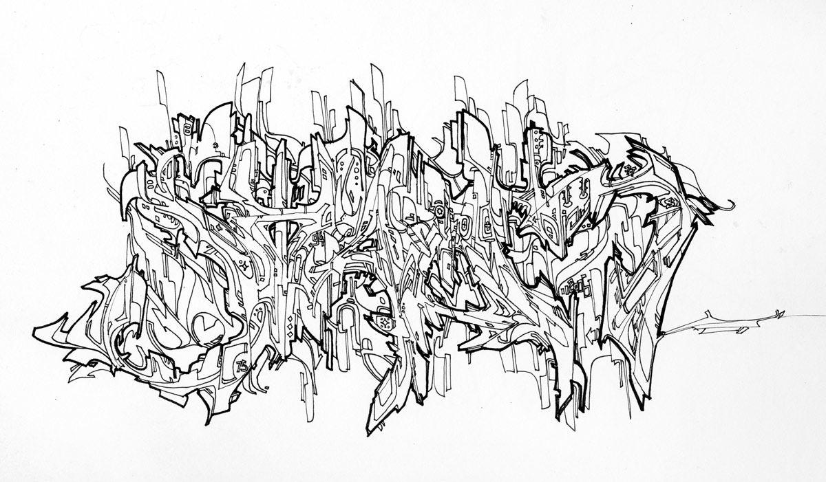 Wild Style Graffitifont Graffiti Font Generator Oyle