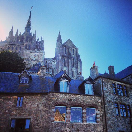 Mont Saint Michel, France.  VanessaLarson.com