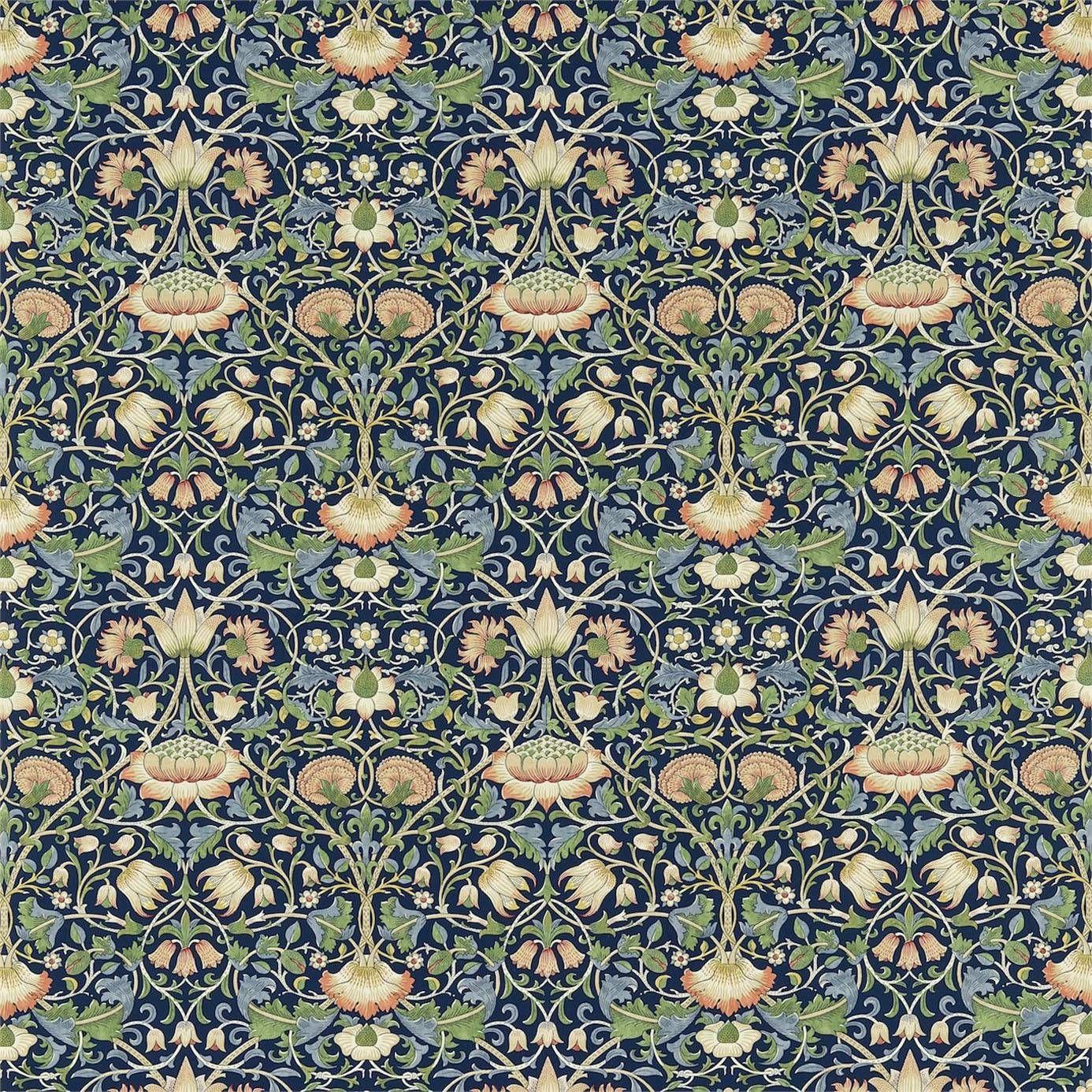 William Morris Rugs Reproductions: William Morris & Co Lodden Fabric