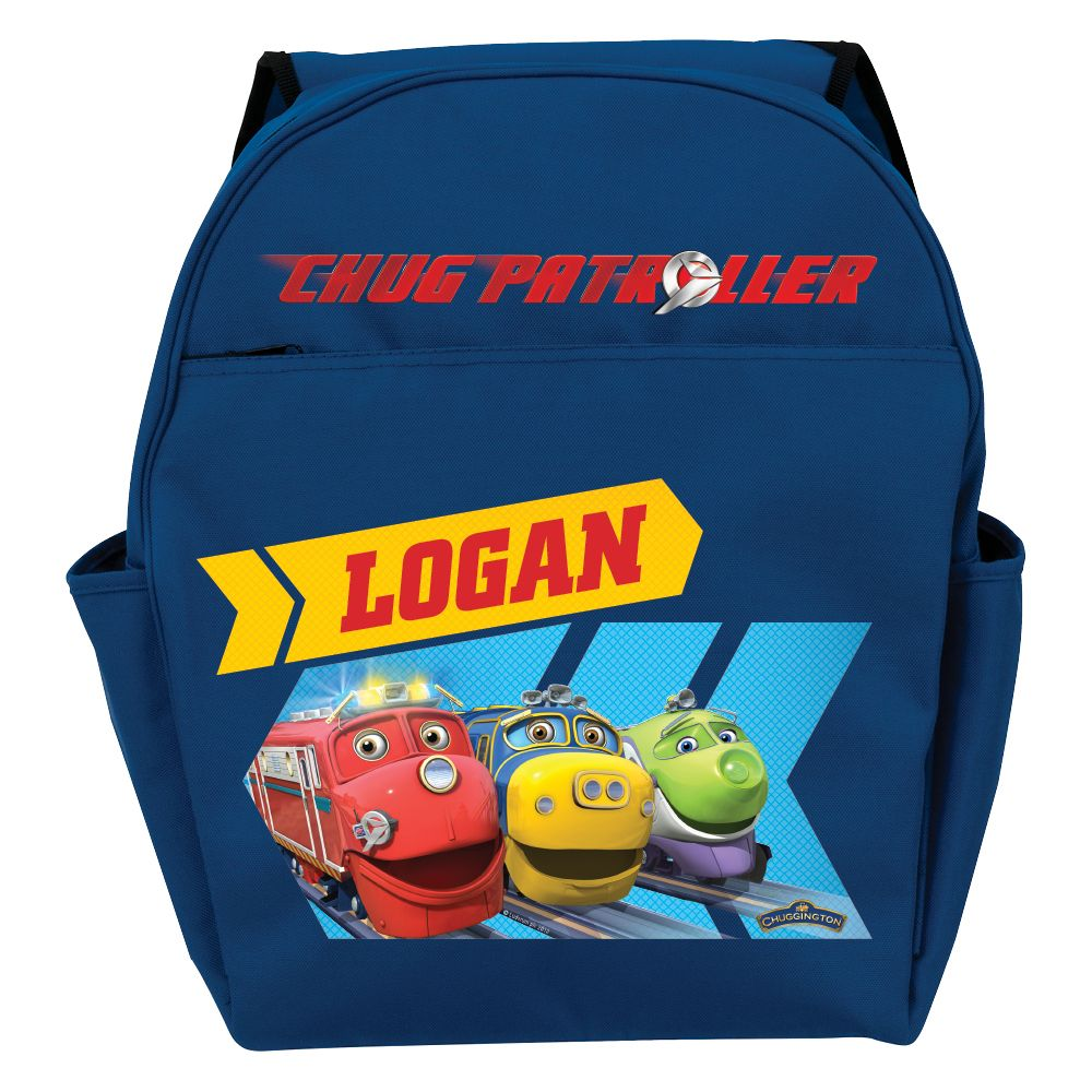 Chuggington Chug Patroller Blue Toddler Backpack from Ty\'s Toy Box ...