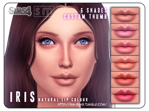 Lips lips lips lips lips.   Here are some more lips, in more natural tones. (Please let me know if the custom thumb is working. I requested TSR to replace the broken files but never heard back!)     FOR: Female from Teen+