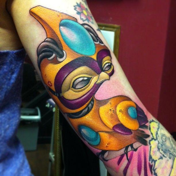 First Tattoo @ London! Jolie Rouge