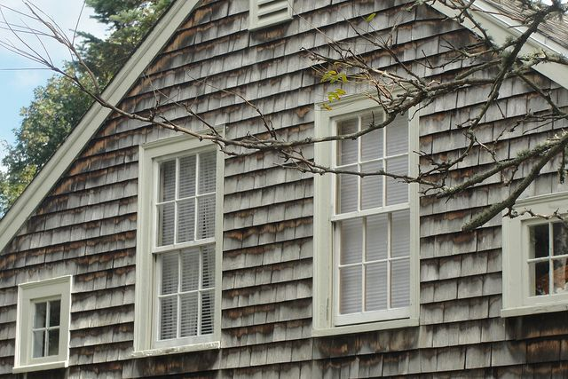 Typical Window Placement On Cape New England Homes Cape Cod House Historic Homes
