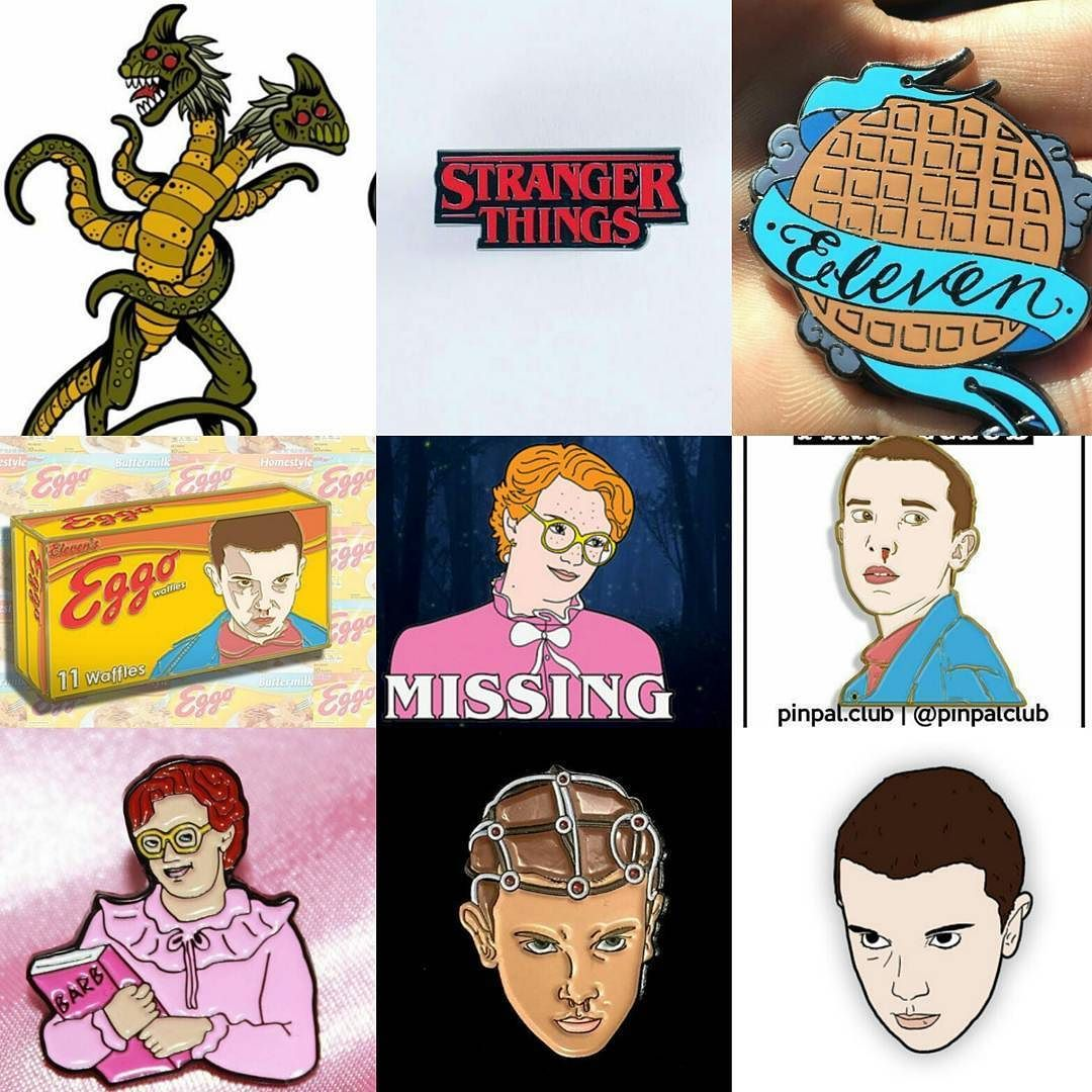 Ive Tracked Down A Number Of Stranger Things Enamel Pins By Request. Tap  Theu2026