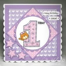 First Birthday Cards For Girls