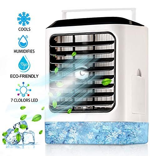 Personal Air Conditioner Fan Portable 4 In 1 Evaporative