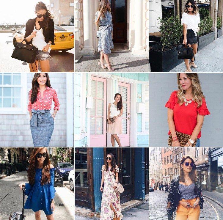 My Favourite Instagram Accounts Petite Fashion Bloggers Edition Auburn Blossom Petite Fashion Mom Outfits Fashion Blogger