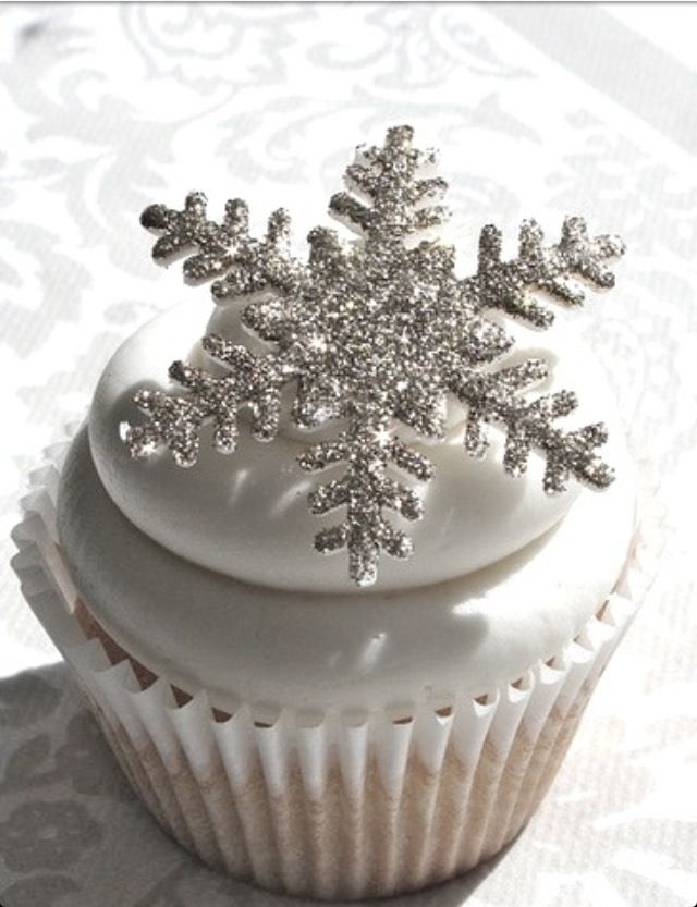 Sparkly Winter Wonderland Cupcakes How Simple And