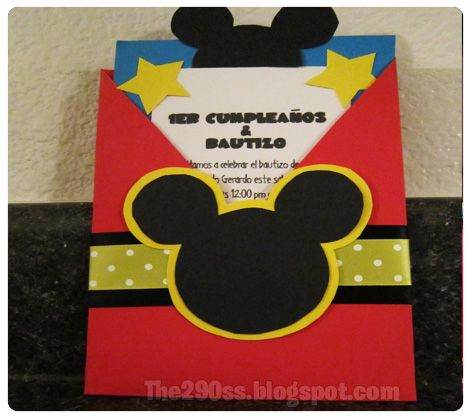 The290ss: Mickey Mouse Themed Birthday Party!