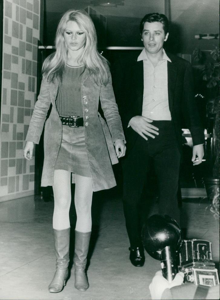 Brigitte Bardot Et Alain Delon Une Longue Amitie Actualites De