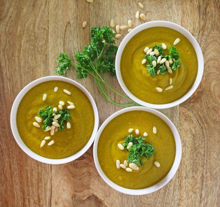 素食湯食譜:紅薯蘋果歐芹湯|  和平餃子