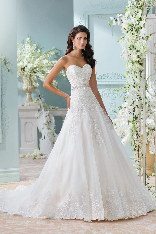 David Tutera Wedding Dresses - Style Laina | Courtney | Pinterest ...