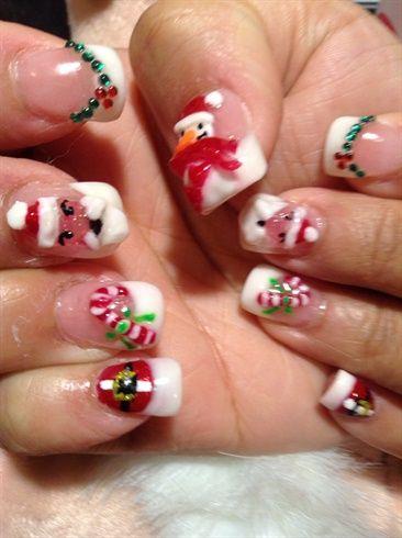 Holiday Nail Art Gallery Nailartgalleryilsmag By Nails