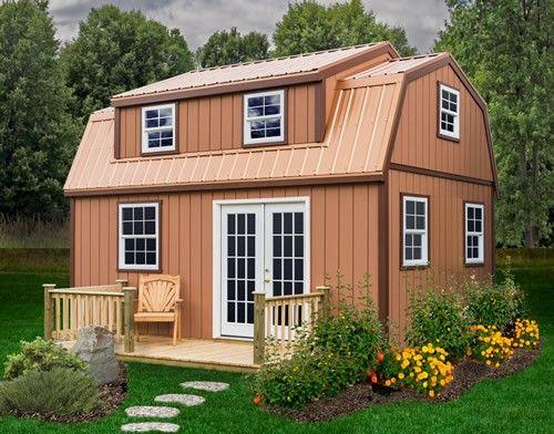 Best Barns 12X24 Lakewood Wood Shed Kit Lakewood 1224 400 x 300