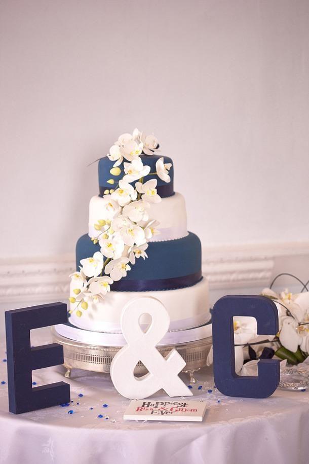 Décoration De Mariage Bleu Marine Et Rose Troues Mariage