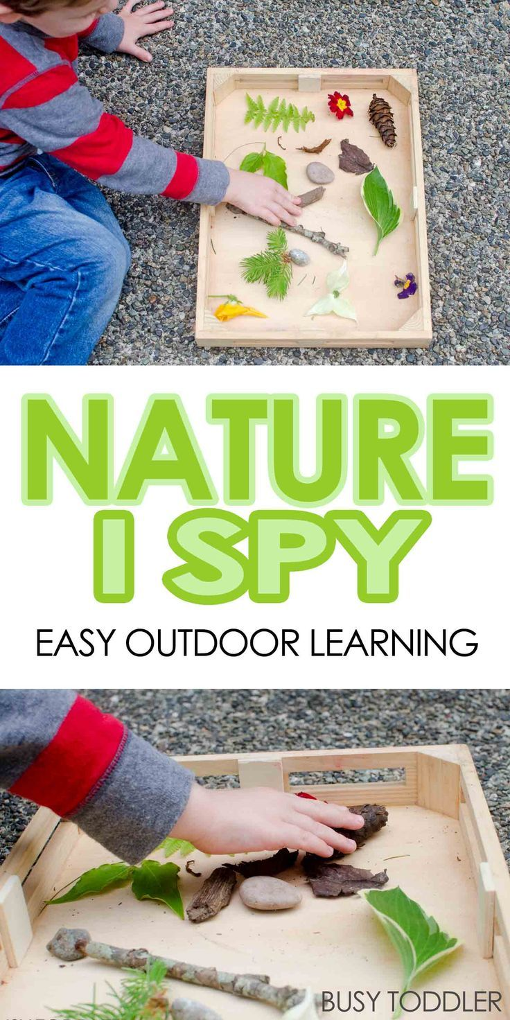 Nature I-Spy with Toddlers | Activities, Kid activities and Toddler ...