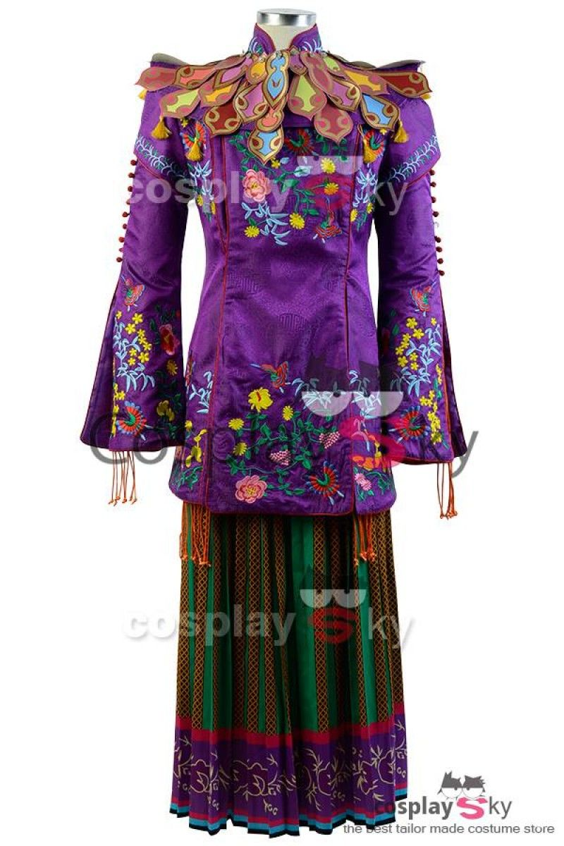 Alice Through The Looking Glass Alice Mandarin Outfit Cosplay ...