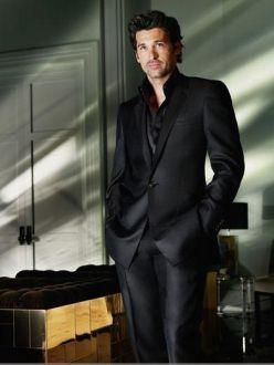 male in black suit | man in black style james bond bodyguard suit | Ottoman Dandy