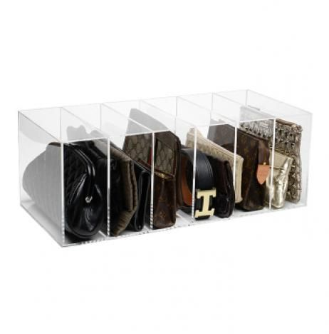 Personal Closet Organizer we love the glamdivide clutch and purse organizer to keep your