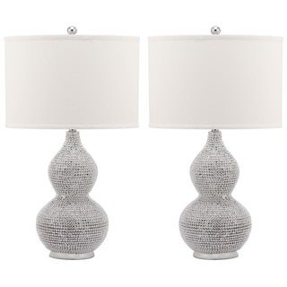 Shop for Safavieh Lighting 24-inch Nicole Bead Base Lamp (Set of 2). Get free delivery at Overstock.com - Your Online Home Decor Shop! Get 5% in rewards with Club O!