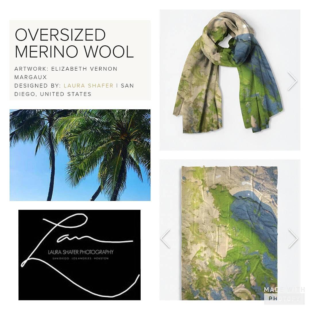 Oversized Merino Wool Scarf - PURPLE 1 by VIDA VIDA Cheap Footlocker Finishline OmXeuPwH
