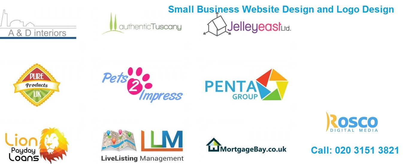We at http://www.roscodigitalmedia.co.uk/logo-design-portfolio/ can take your business to an all new level with our top quality small business website design.