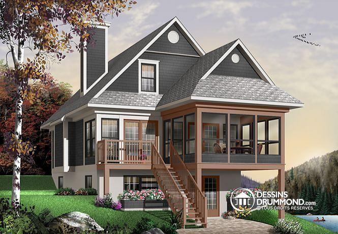 Tiny Home Designs: Plan De Maison Unifamiliale Baldor No. 4916A In 2019
