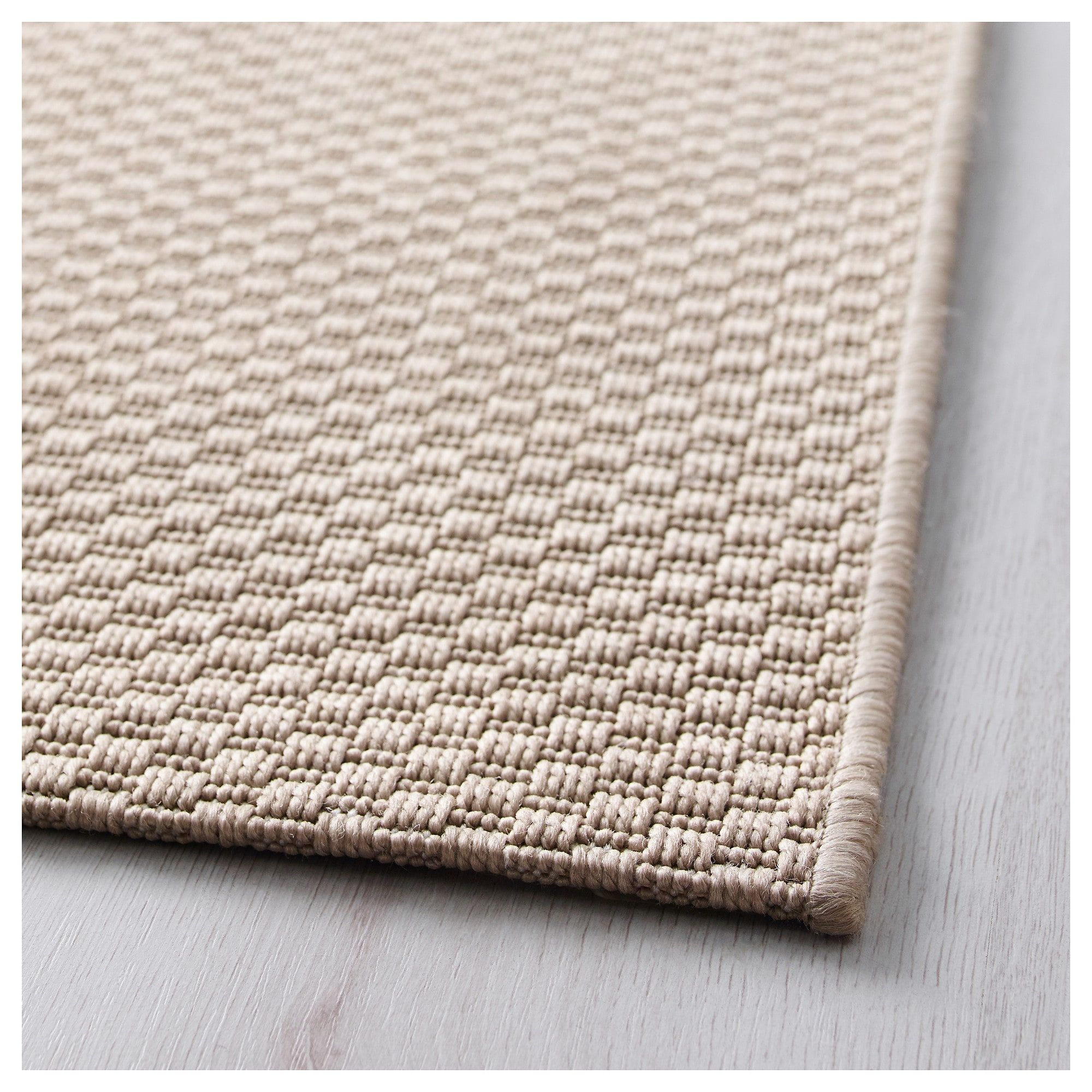 Ikea Morum Indooroutdoor Beige Rug Flatwoven Inoutdoor In