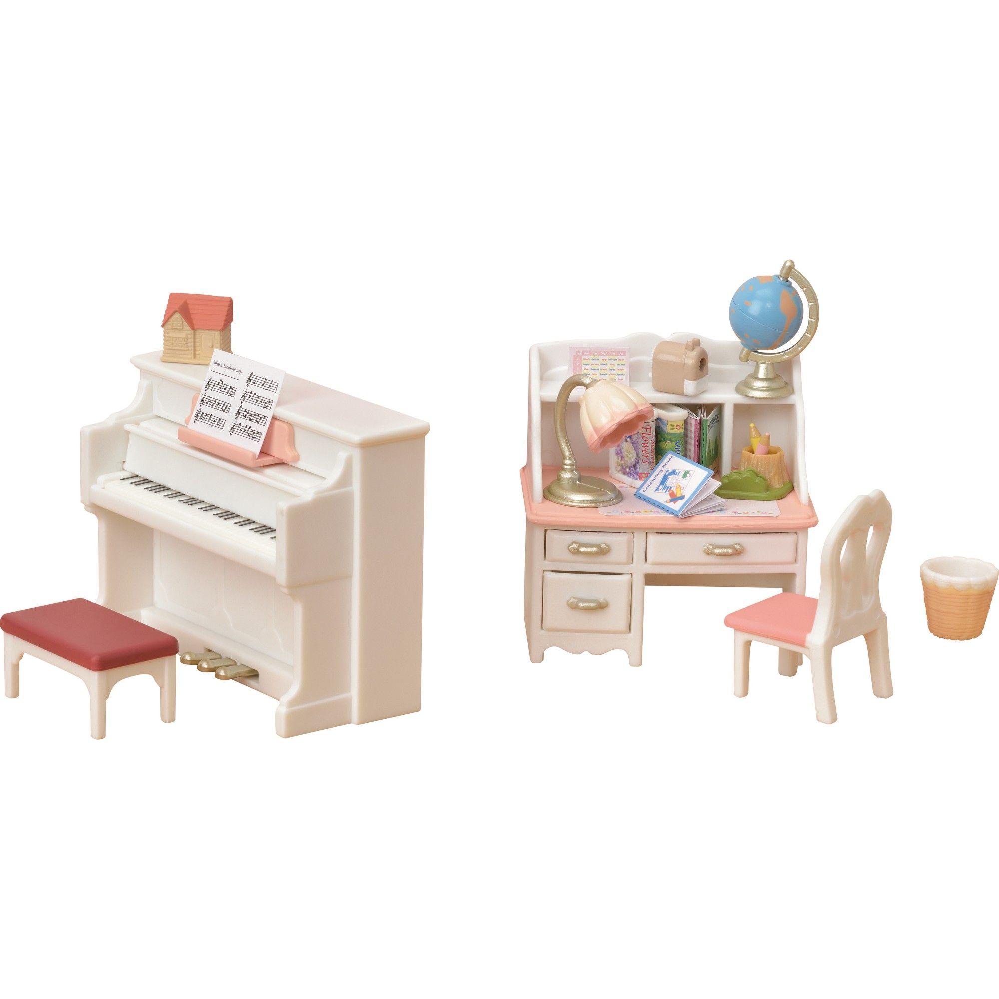 Calico Critters Piano and Desk Set in 2020 Piano desk