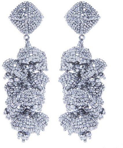 Sachin & Babi Grapes Earrings Silver 4SRQGHVj
