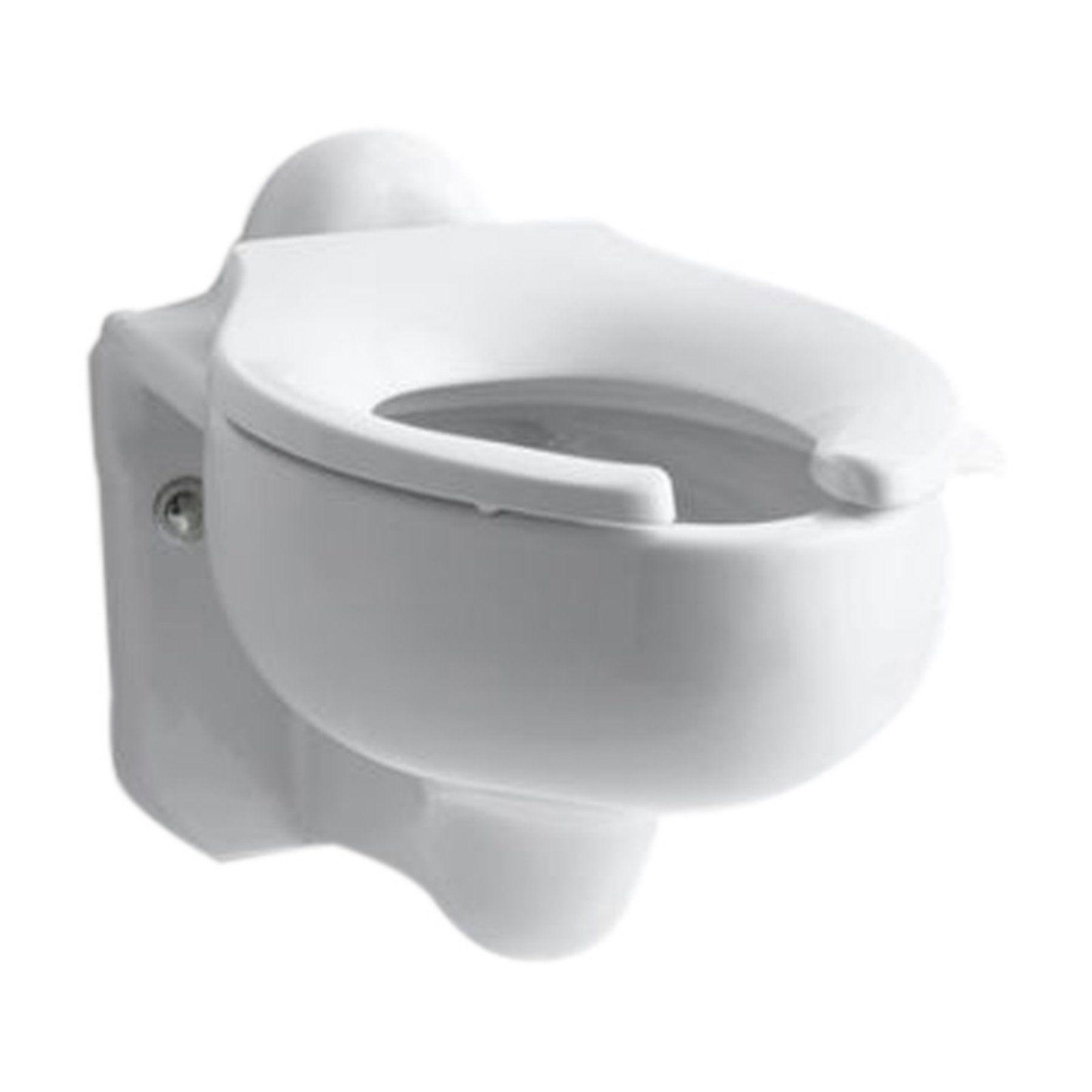 Kohler Sifton K4460 C 0 Wall Mount Elongated Toilet Bowl In 2019