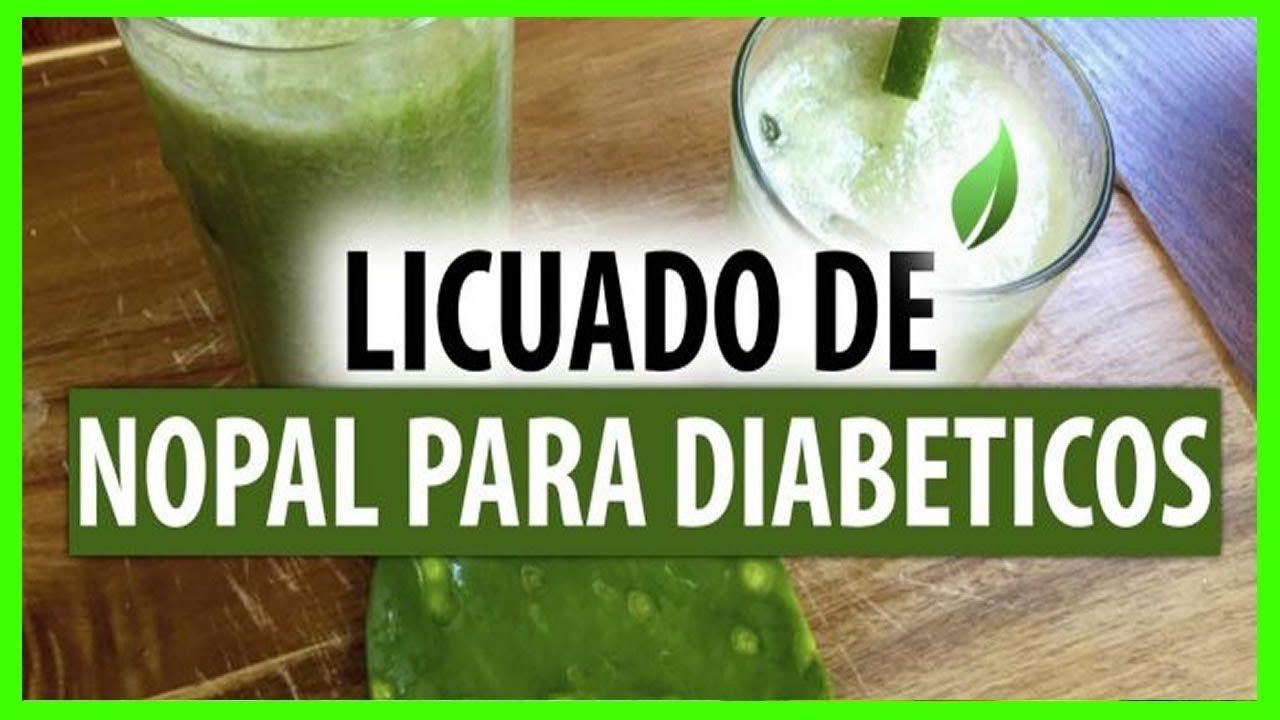 licuados de nopal para la diabetes