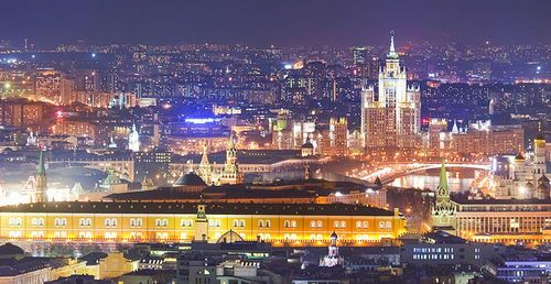 Proud to live in Moscow