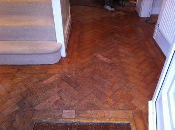 Image result for parquet flooring hallway