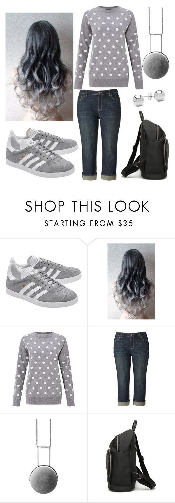 """""""Untitled #2416"""" by mountain-girl-lynn ❤ liked on Polyvore featuring adidas Originals, Simply Vera, Mei-Li Rose and Jewelonfire"""