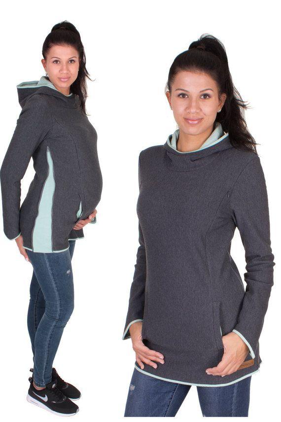 e99cca8b7 Suéteres de maternidad lactancia materna por VivalaMamaBerlin ...