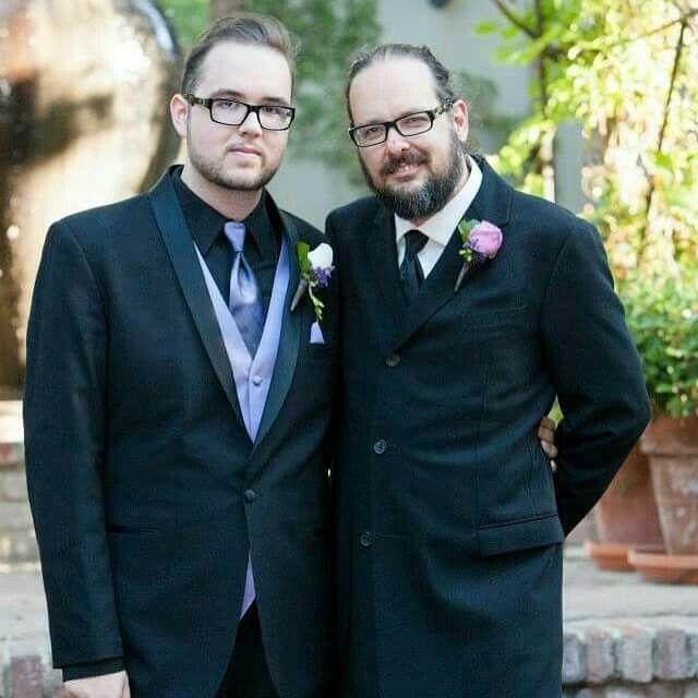 Foto von Jonathan Davis  & sein  Sohn  Nathan Howsmon Davis