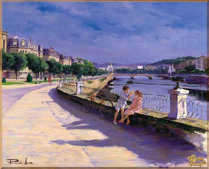 City - 262 Городской пейзах, картины, подарки