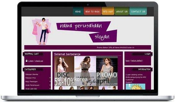 Panduan Membuat Web Toko Online Gratis 0851 0115 7943 Nama