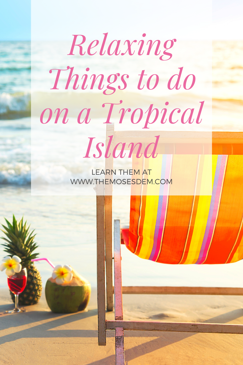 What can you do on a tropical island vacation that's relaxing? Get a list of great activities at www.TheMosesDem.com. #travel #thingstodo #caribbean #stcroix #familytraveltips #familytravelideas #kids