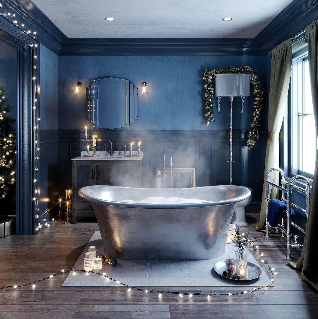 Bathroom Ideas Enchanted Winter part 2 Latest interior