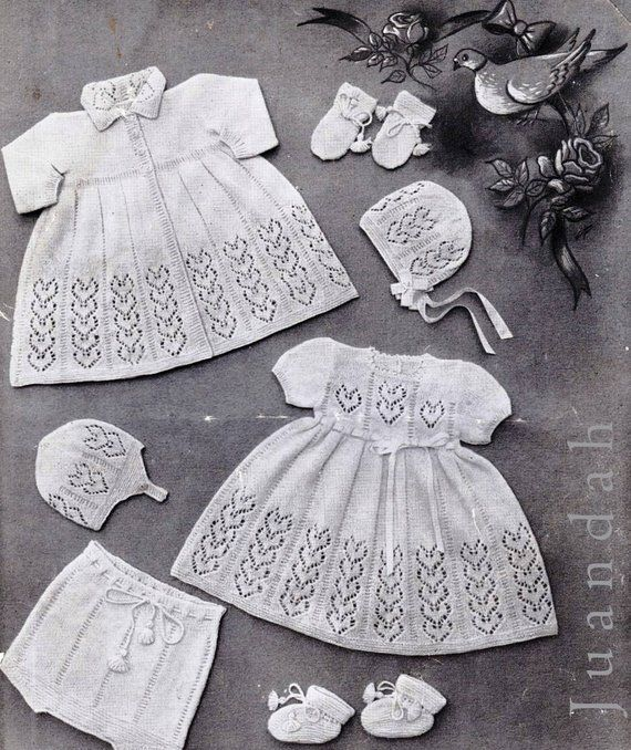 dab2e257b Book of layette patterns