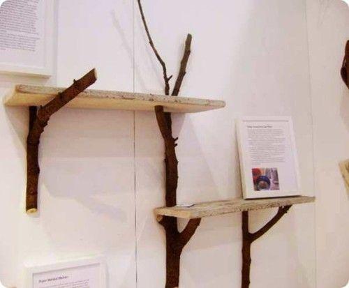 Twig shelves