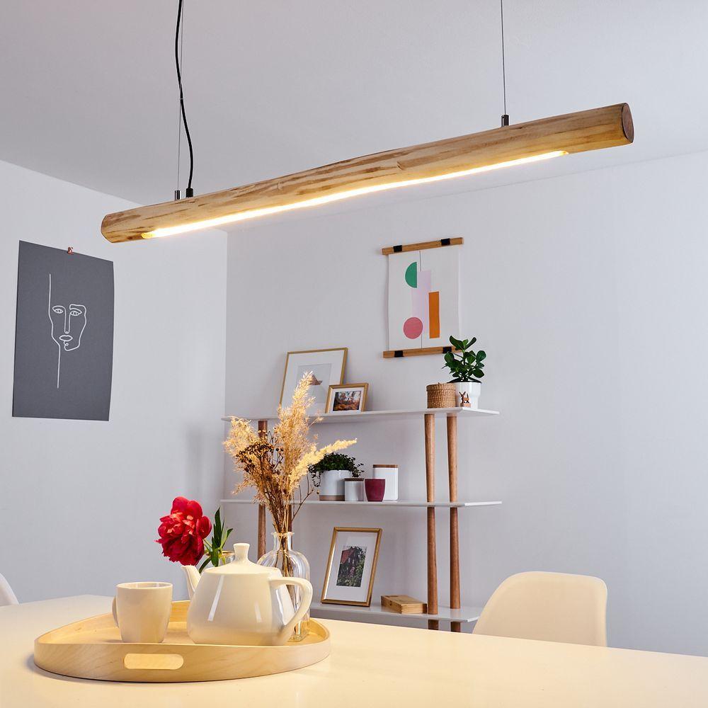 Holzbalken Lampe Mit Lichtleiste In 2020 Holzbalken Lampe Tischlampe Treibholz Lampe
