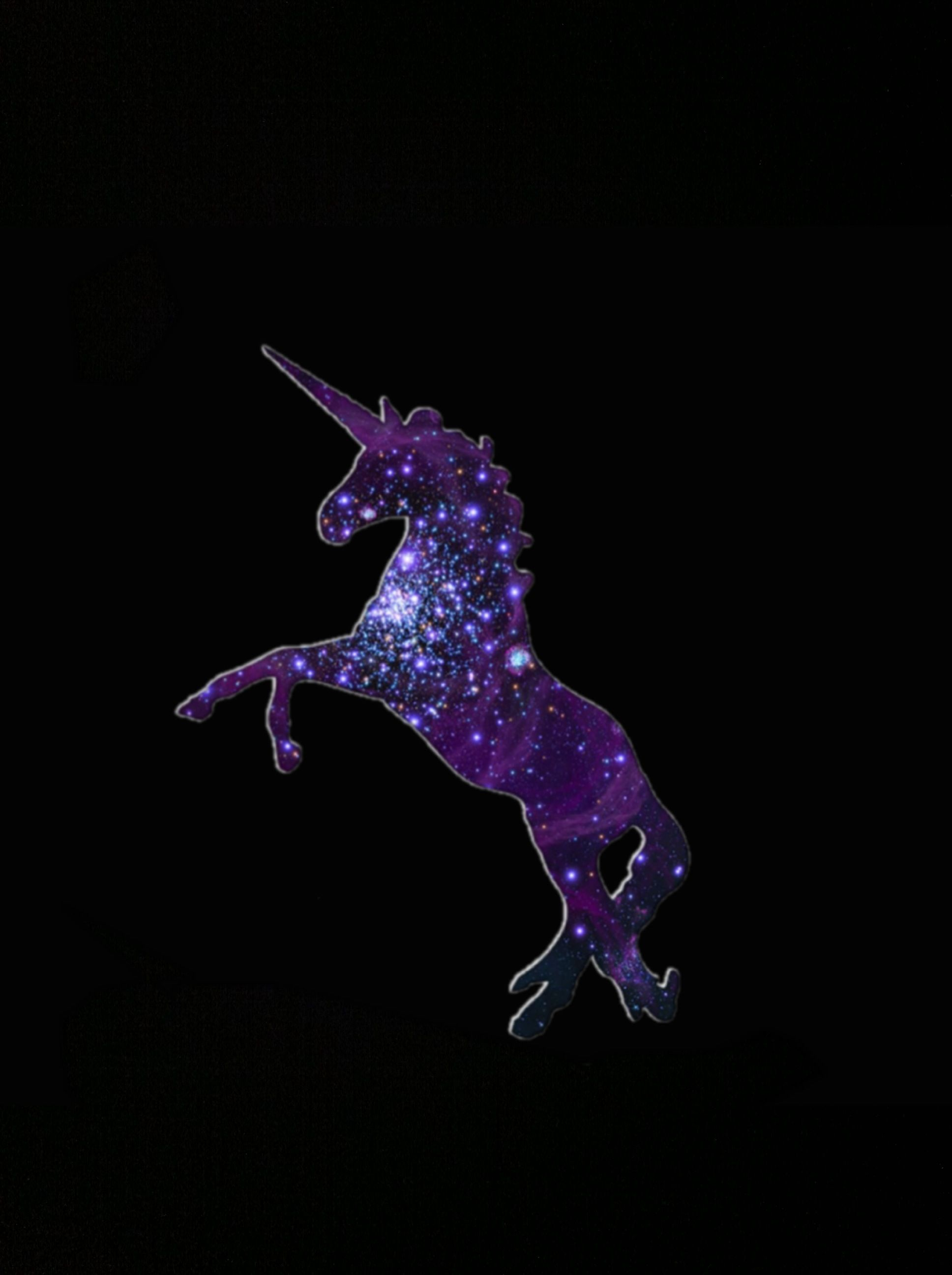 Unicorn Galaxy Background