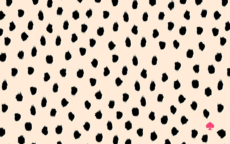 Kate Spade leopard wallpaper
