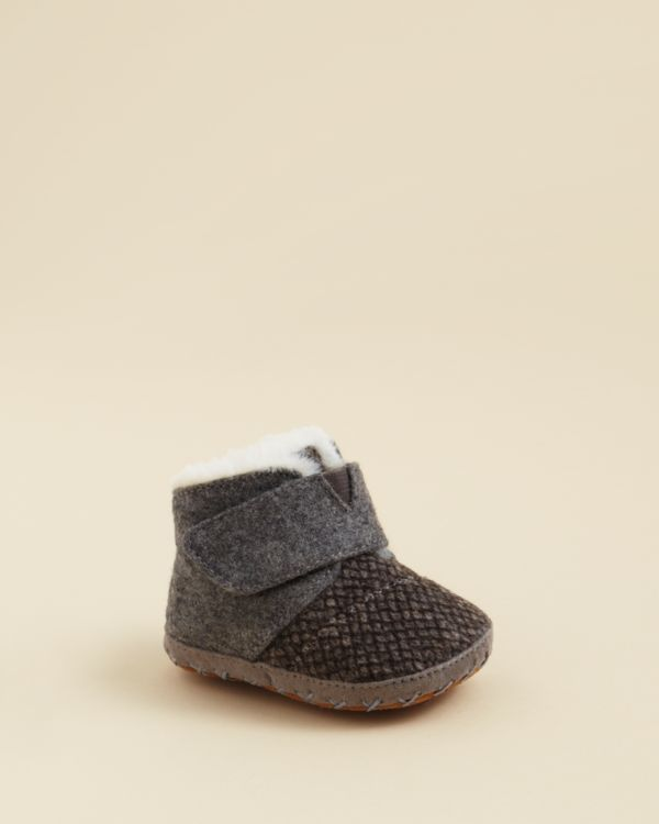 dcb9b4be54102 Toms Infant Unisex Felt Tweed Cuna Booties - Baby | // SHOES FOR ...