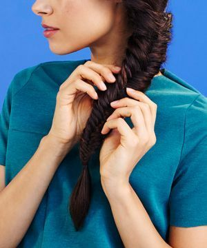 Hair Tutorial: How to Do a Loose, Messy Fishtail Braid # fishtail Braids with bangs Hair Tutorial: How to Do a Loose, Messy Fishtail Braid