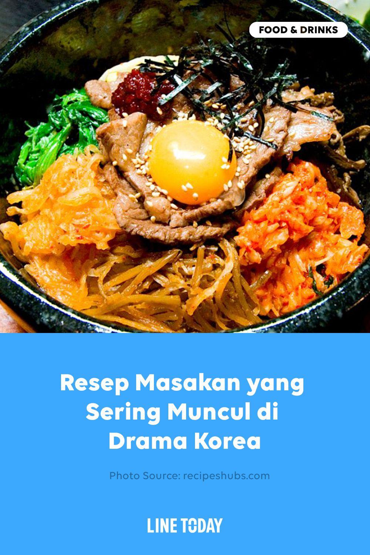 Resep Masakan Yang Sering Muncul Di Drama Korea Masakan Korea Resep Masakan Resep Masakan Korea
